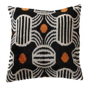 New Black Velvet Throw Pillow Small decorative 16x12 inches