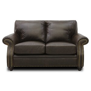 Mason Leather Loveseat by Luke Leather