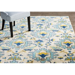 Mansi Blue/Yellow/Beige Area Rug