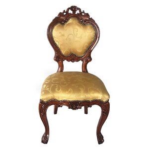 Lady Ambrose Shield Back Side Chair by Design Toscano