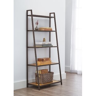 60 H X 27 W Leaning Bamboo Shelving Unit