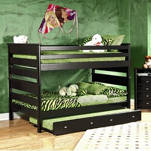Best Price Allerone Full Over Full Bunk Bed with Trundle by Harriet Bee Reviews (2019) & Buyer's Guide