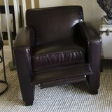 Brady Genuine Leather Manual Recliner by Elements Fine Home Furnishings