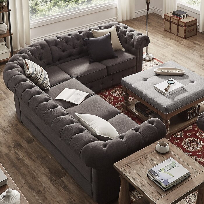 Pleasing Gowans Reversible Sectional Collection Gamerscity Chair Design For Home Gamerscityorg