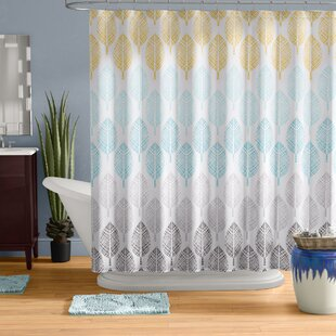 Top Reviews Utterback Printed Shower Curtain By Wrought Studio