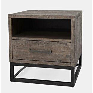 Nina End Table by 17 Stories