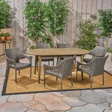 Cabezas 7 Piece Dining Set