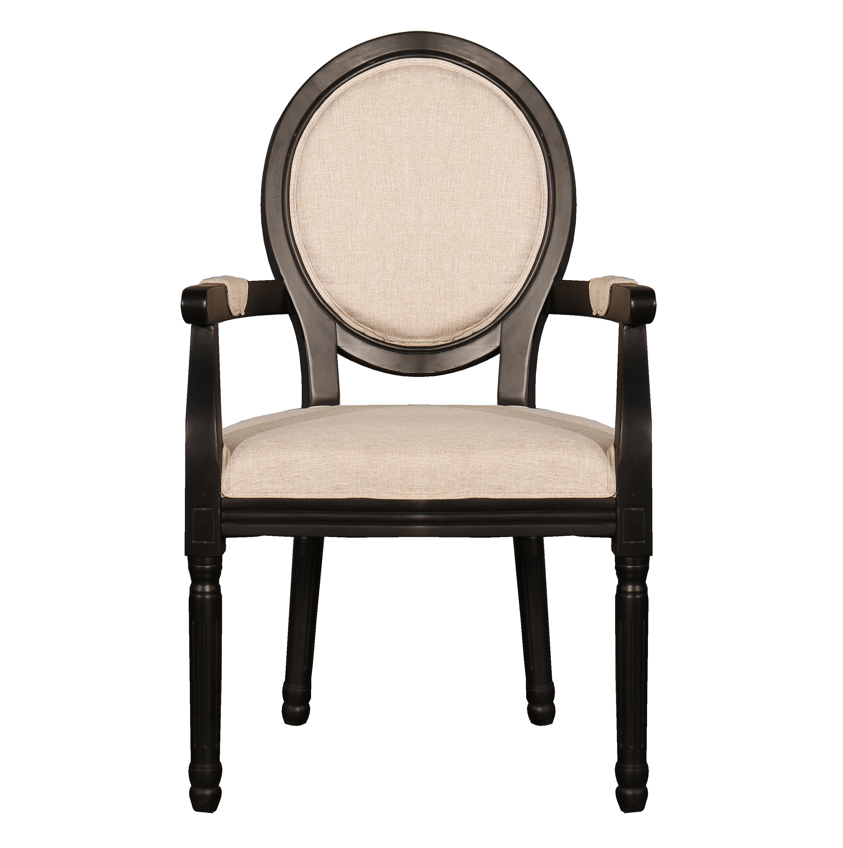 Ophelia & Co Raylen Distressed Room Upholstered Dining Chair
