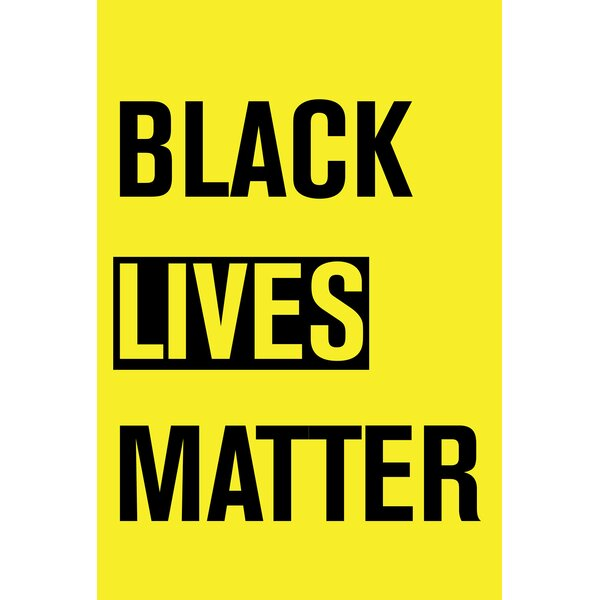 Toland Home Garden Black Lives Matter 28 X 40 Inch House Flag Wayfair