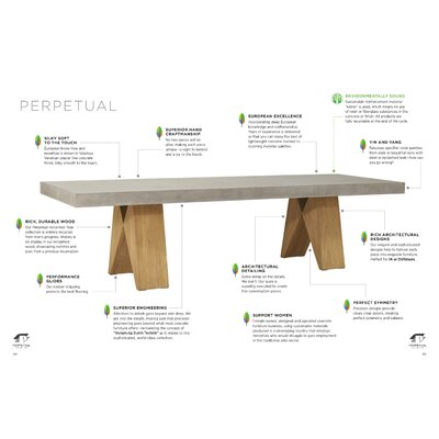 Perpetual Dining Table by Seasonal Living #2