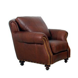 Randolph Genuine Top Grain Club Chair ..