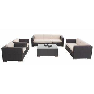5-tlg. Loungemöbel-Set Brax von dCor design