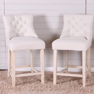 Hubble Bar Stool (Set of 2) by Highland Dunes