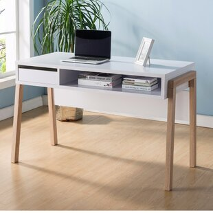 Franks Writing Desk with Open Storage Shelf by Brayden Studio