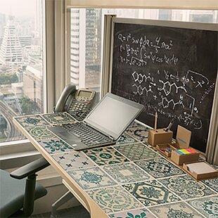 Helena Tiles And Blackboard Self Adhesive Wall Sticker