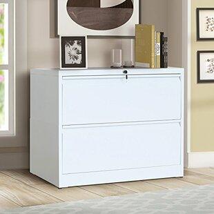 Arnett 2 Drawer Lateral Filing Cabinet by Latitude Run