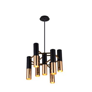 Wrought Studio Clement 7-Light Candle-Style Chandelier