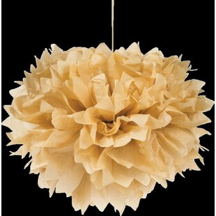 Kraft Tissue Balls Paper Centerpieces And Hanging Décor (Set Of 3) By Creative Converting