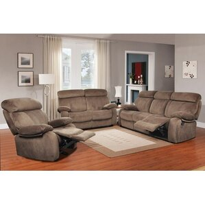 Beverly Fine Furniture Walden 3 Piece Living Room Set