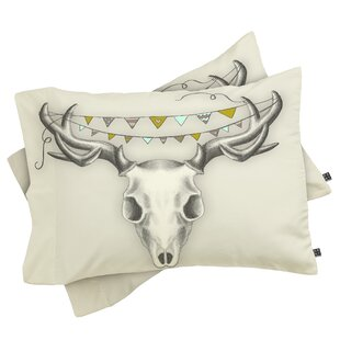 Wesley Bird Skull Pillowcase