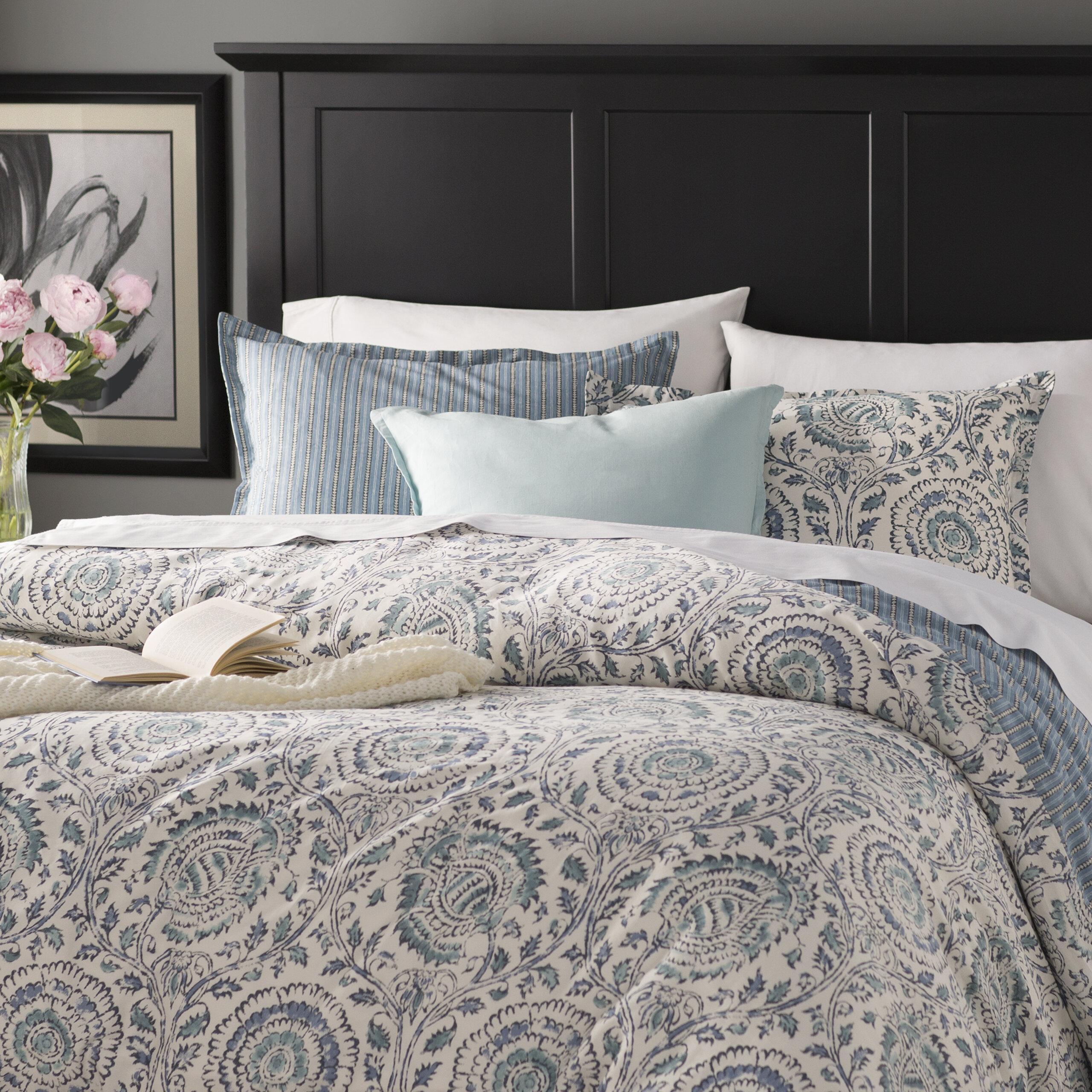 Echo Design Kamala 250 Thread Count 100 Cotton Duvet Cover Set