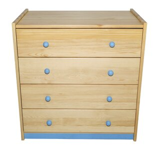 Compare prices Cornell 4 Drawer Dresser by Harriet Bee