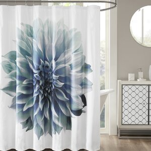 Griswold Percale 200 Thread Count Cotton Shower Curtain