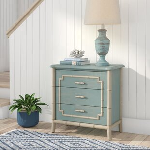 Reviews Serpentine 3 Drawer Accent Chest ByBay Isle Home