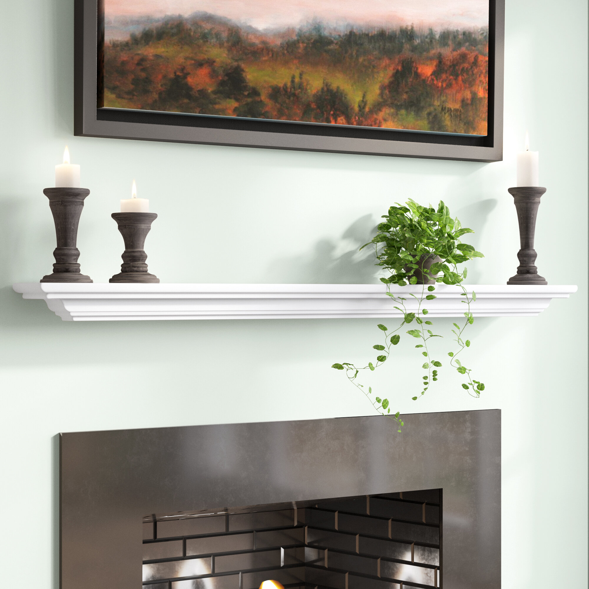 Hyder Fireplace Mantel Shelf