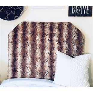 Hotwells Beveled Twin/Twin XL Upholstered Panel Headboard by Zoomie Kids