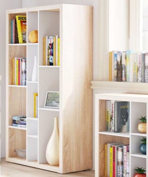 Bronto Open Back Room Divider 148cm Bookcase