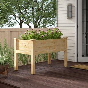 Wooden Garden Wagon | Wayfair
