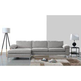 Comparison Barto Modern Large L Shape Sectional by Wrought Studio Reviews (2019) & Buyer's Guide