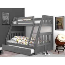 Trundle Twin Over Full Kids Beds You Ll Love In 2021 Wayfair