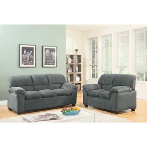 Mikaela 2 Piece Living Room Set