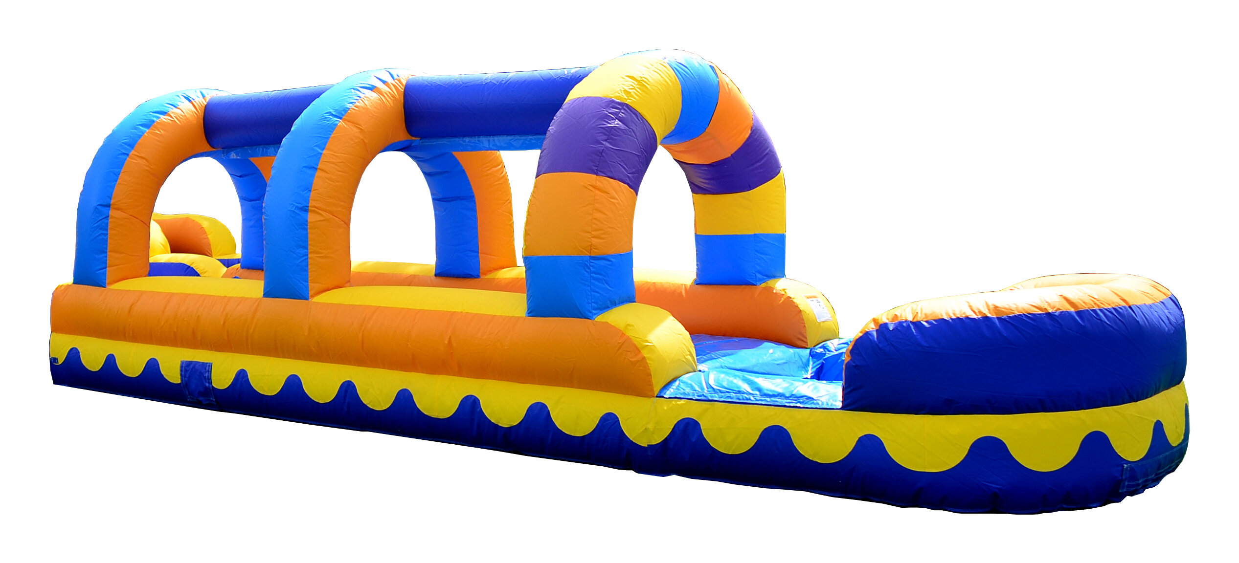 Dolphin Splash Slip Bounce House