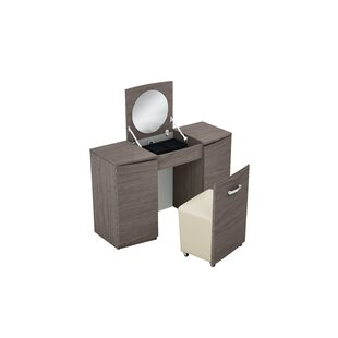 Deb Dressing Table With Mirror By Ebern Designs