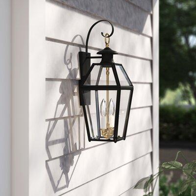 Estevan 2-Light Outdoor Wall Lantern Sol 72 Outdoor