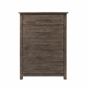 Gracie Oaks Citadel 5 Drawer Chest