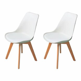 Guildford Mid Century Upholstered Dining Chair (Set of 2) by Corrigan Studio