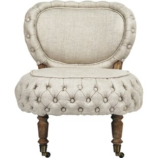 Zentique Sylvie Tufted Slipper Chair