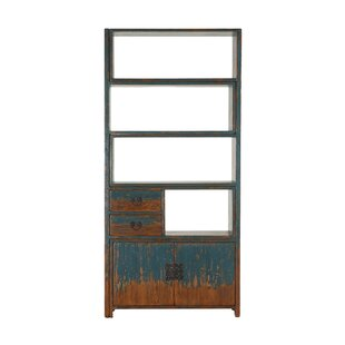 Read Reviews Clarkfield Adjustable Geometric Bookcase by Gracie Oaks