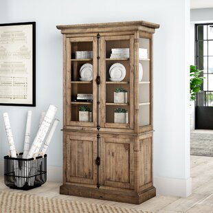 West Point Lighted China Cabinet by Greyleigh