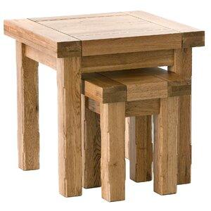 2-tlg. Satztisch-Set Windermere von Carlton Furniture