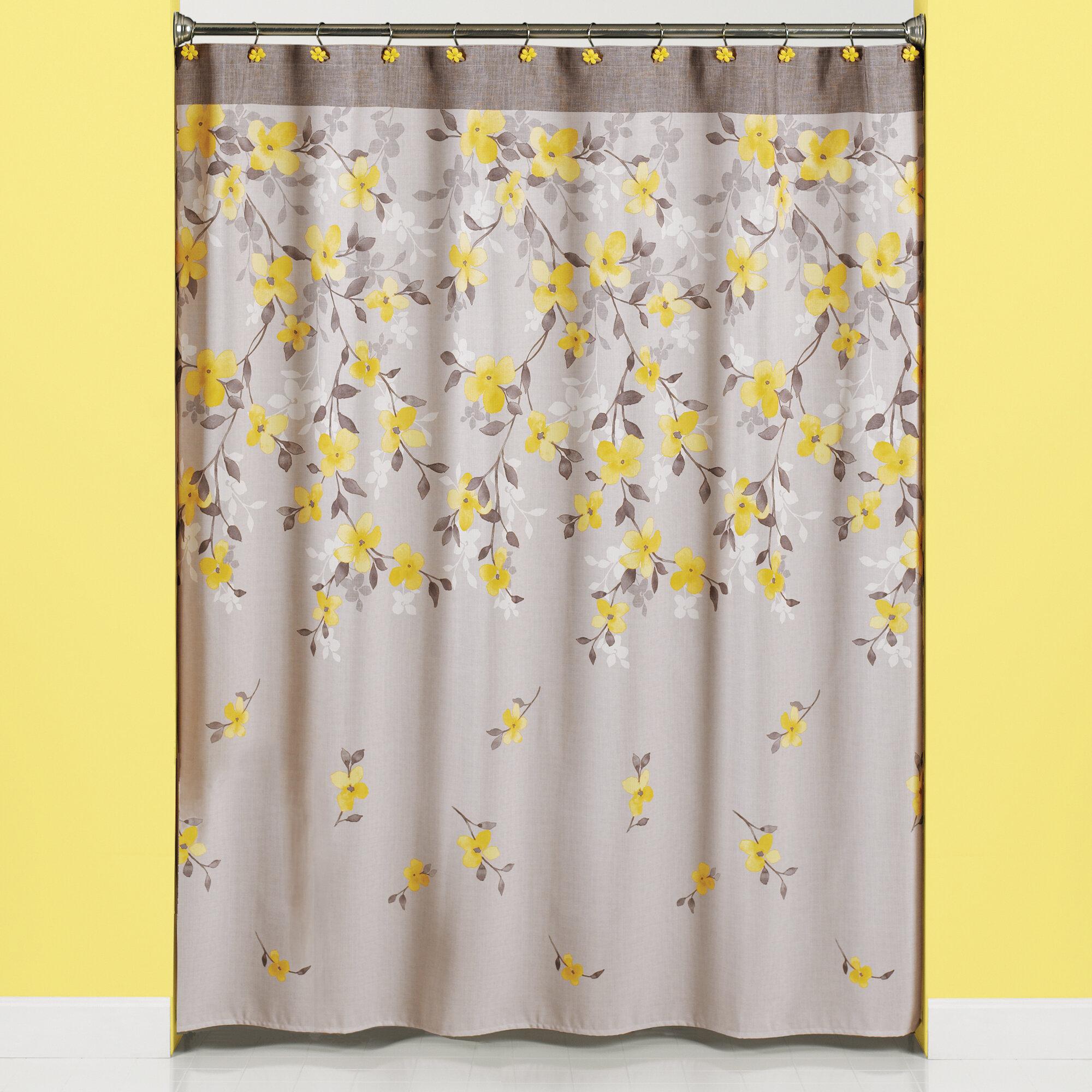 August Grove Schulenburg Single Shower Curtain Reviews Wayfair