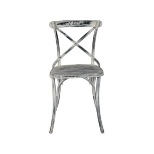 Pilton Iron Dining Chair by Gracie Oaks