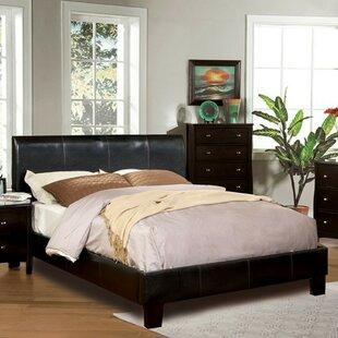 Ryegate Padded Leatherette Upholstered Platform Bed