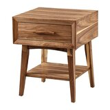 Adrien 1 Drawer Nightstand by Union Rustic