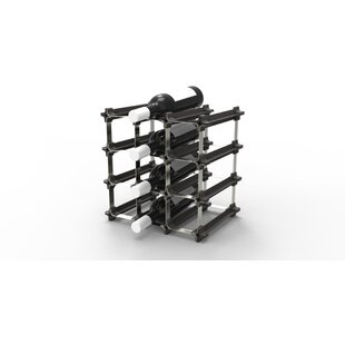 Huntsberry 12 Bottle Tabletop Wine Rack b..