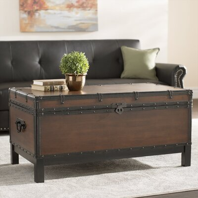 Glenway Coffee Table with Storage by Alcott Hill
